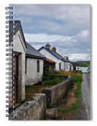 Village By The Sea Spiral Notebook