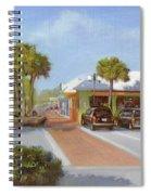 Village Cafe, Siesta Key Spiral Notebook