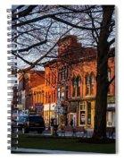 Village Facades Spiral Notebook