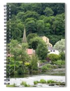 Village In England Spiral Notebook
