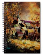 Village In Fall Spiral Notebook