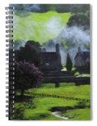 Village In North Wales Spiral Notebook
