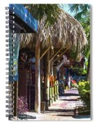 Village Life II - Siesta Key Spiral Notebook