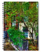 Village Life Spiral Notebook