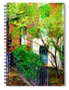 Village Life Sketch Spiral Notebook