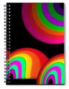 Village Moon Spiral Notebook