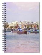 Village Of Fishermen Spiral Notebook