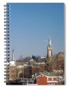 Village Of Spires Spiral Notebook