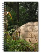 Village Spiral Notebook