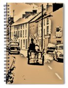 Village Scene Ireland Spiral Notebook