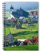 Village Spiral Notebook