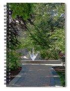 Villanova Fountain Spiral Notebook