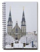Villanova Snow Spiral Notebook