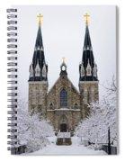 Villanova University After Snow Fall Spiral Notebook