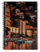 Villefranche Sur Mer Spiral Notebook