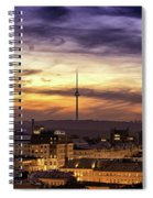 Vilnius Tv Tower Spiral Notebook