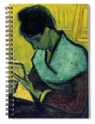Vincent Van Gogh  A Novel Reader Spiral Notebook