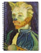 Vincent Van Gogh Cat    Spiral Notebook