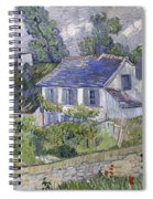 Vincent Van Gogh, Houses At Auvers Spiral Notebook