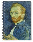 Vincent Van Gogh Self-portrait 1889 Spiral Notebook