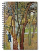 Vincent Van Gogh, The Garden Of Saint Paul's Hospital Spiral Notebook