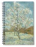 Vincent Van Gogh, The Pink Peach Tree Spiral Notebook