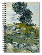 Vincent Van Gogh, The Rocks Spiral Notebook