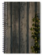 Vine On Wood Spiral Notebook