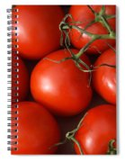 Vine Ripe Tomatoes Fine Art Food Photography Spiral Notebook