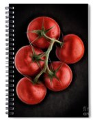 Vine Ripened Tomatoes. Spiral Notebook