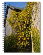 Vined Silo Spiral Notebook