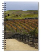 Vineyard 2 Spiral Notebook
