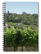 Vineyard In Sebastopol, Sonoma, California Spiral Notebook