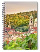 Vineyard Of Prague Spiral Notebook