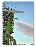 Vineyard Propeller 2 Spiral Notebook