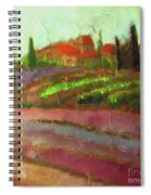 Tuscany Vineyard Spiral Notebook