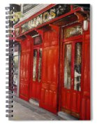 Vinos Sagasta Spiral Notebook
