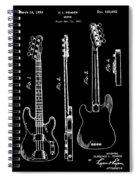 Vintage 1953 Fender Base Patent Spiral Notebook