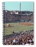 Vintage 1955 Photo Of Us Military Color Guard With Big Bertha Dr Spiral Notebook