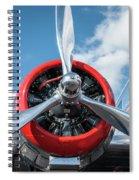 Vintage Aa Propeller Spiral Notebook