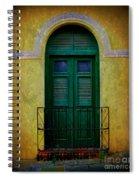 Vintage Arched Door Spiral Notebook