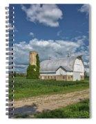 Vintage Barn Spiral Notebook
