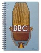 Vintage Bbc Mic Spiral Notebook
