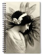 Vintage Beauty Spiral Notebook