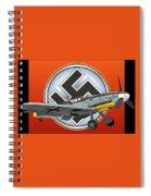 Vintage Bf 109 Spiral Notebook
