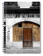 Vintage Boulangerie 1c Spiral Notebook