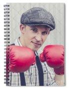 Vintage Boxers Spiral Notebook