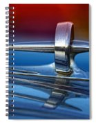 Vintage Buick Hood Ornament Spiral Notebook