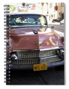 Vintage Cadillac. Luxury From The Past Spiral Notebook