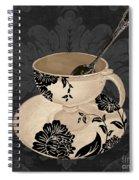 Vintage Cafe II Spiral Notebook
